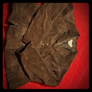 All Leather short coat